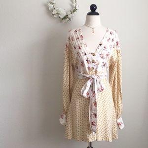 Free People Vintage-Inspired Floral Dress